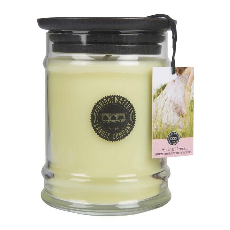 Duftkerze Spring Dress klein 250g Bridgewater Candle