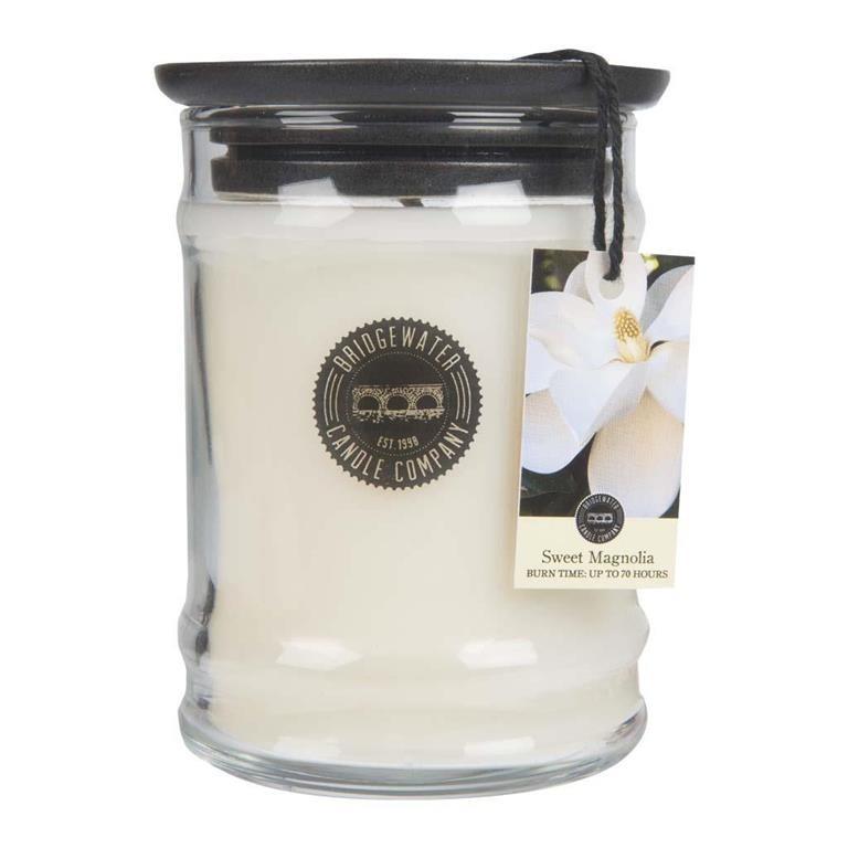Duftkerze Sweet Magnolia klein 250g Bridgewater Candle