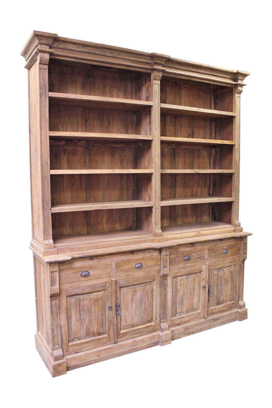 Teak Bücherregal Toulouse 210cm LF056