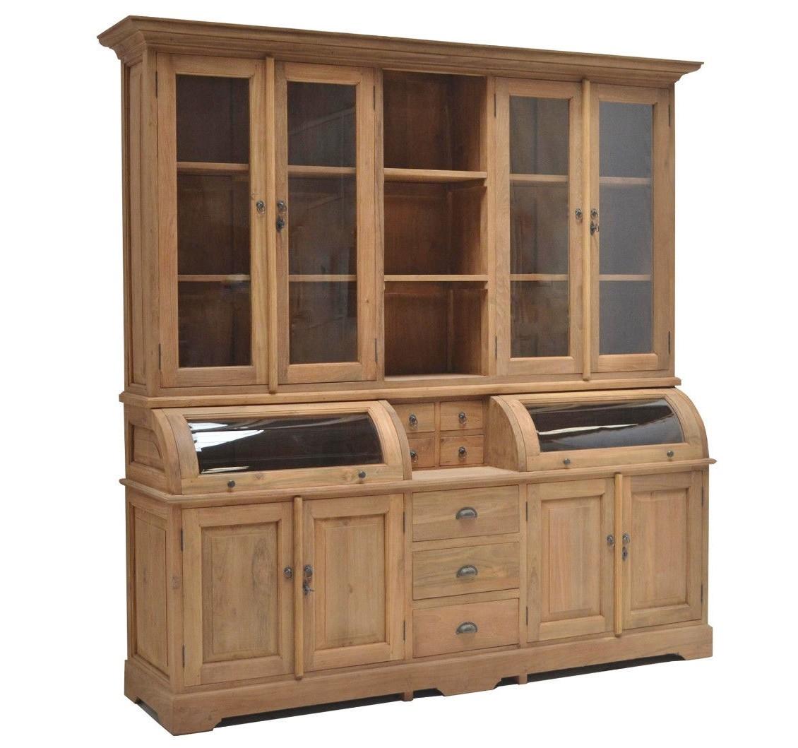 teak buffet mayotte je3 3 vollwaren. Black Bedroom Furniture Sets. Home Design Ideas