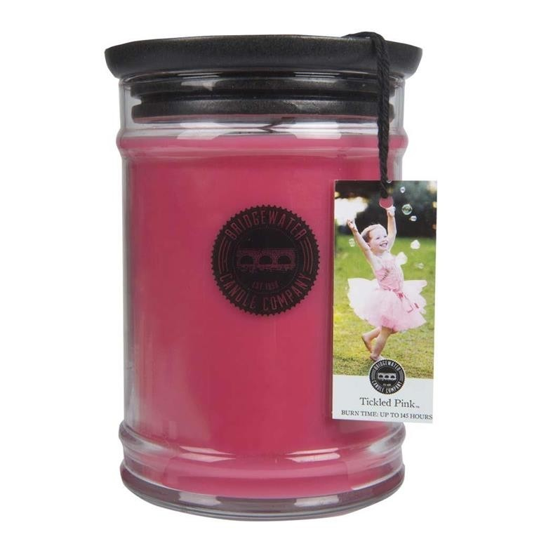 Duftkerze Tickled Pink groß 524g Bridgewater Candle
