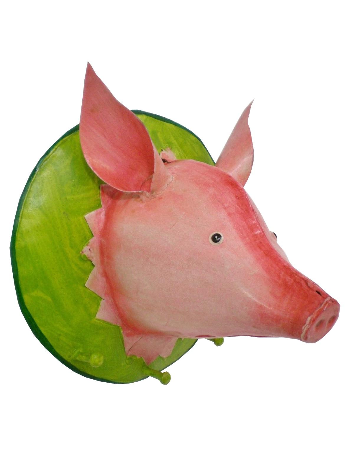 Garderobenhaken Trophäe Schwein