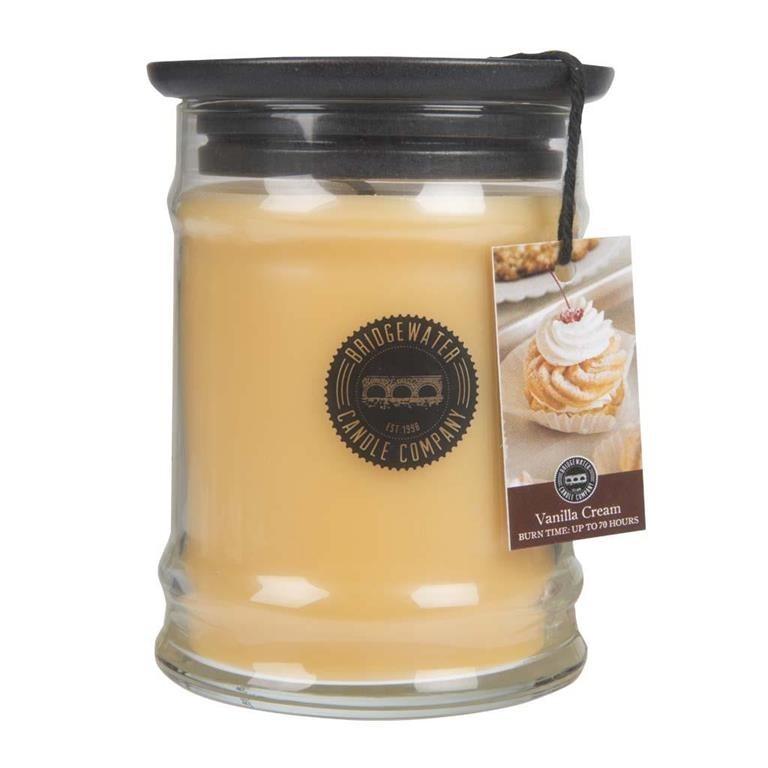 Duftkerze Vanilla Cream klein 250g Bridgewater Candle