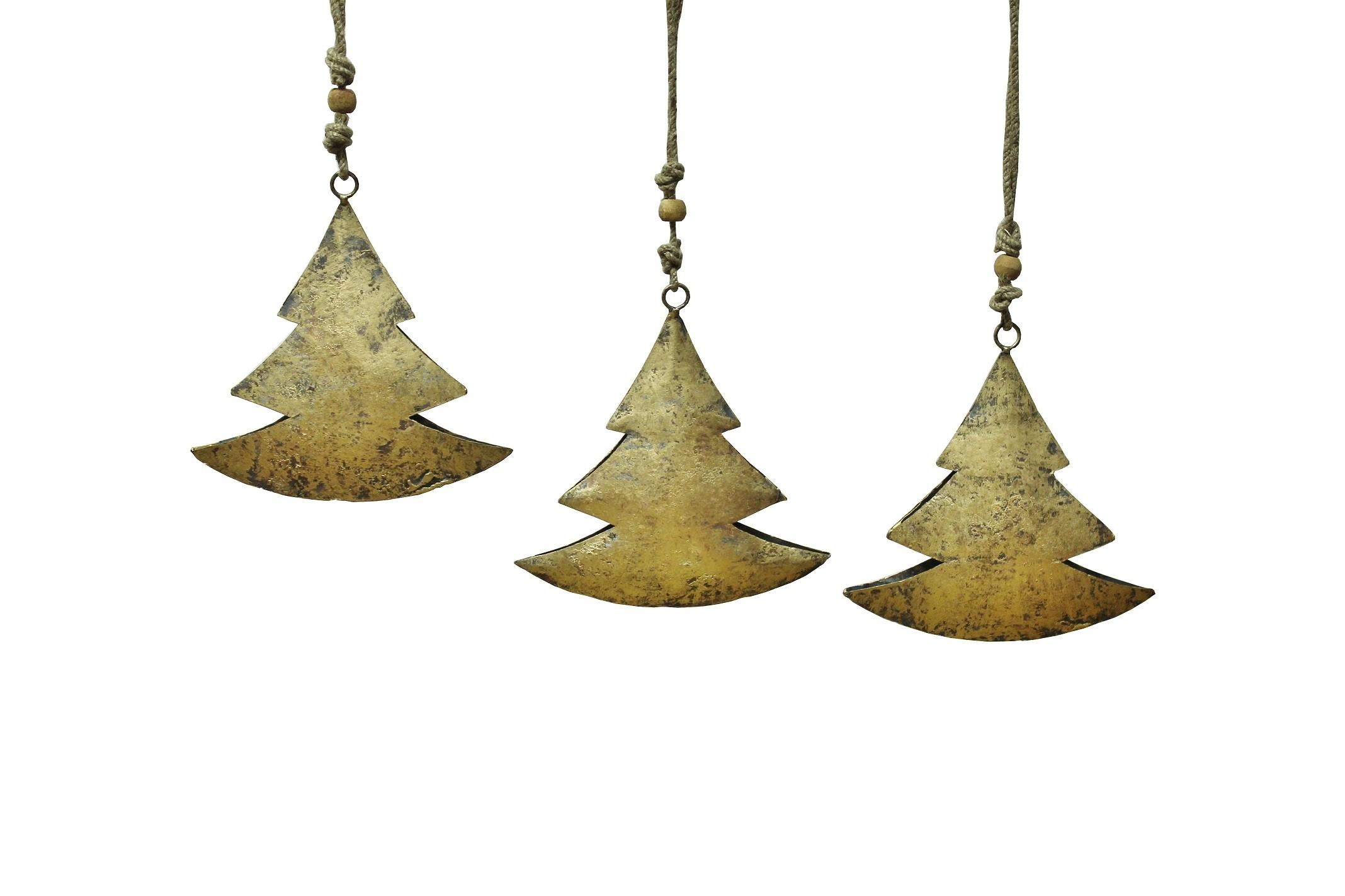 3er set deko metall weihnachtsstern gold h ngend gro. Black Bedroom Furniture Sets. Home Design Ideas
