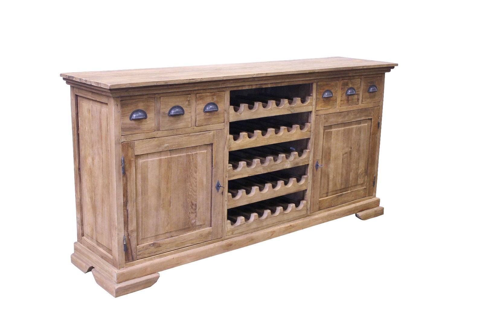 Teak Wein Highboard SE60-3