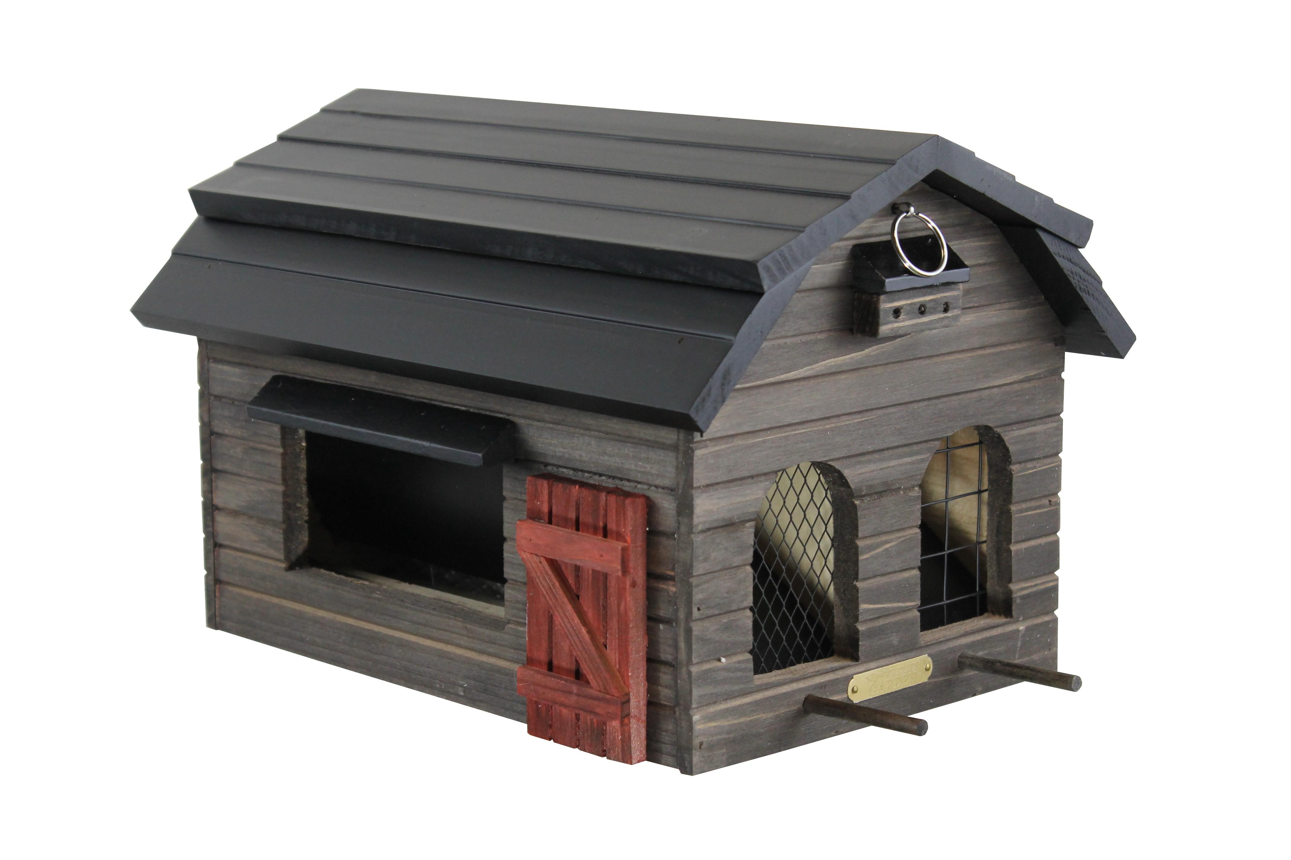 Futterscheune braun WG220 von Wildlife Garden Vogelhaus