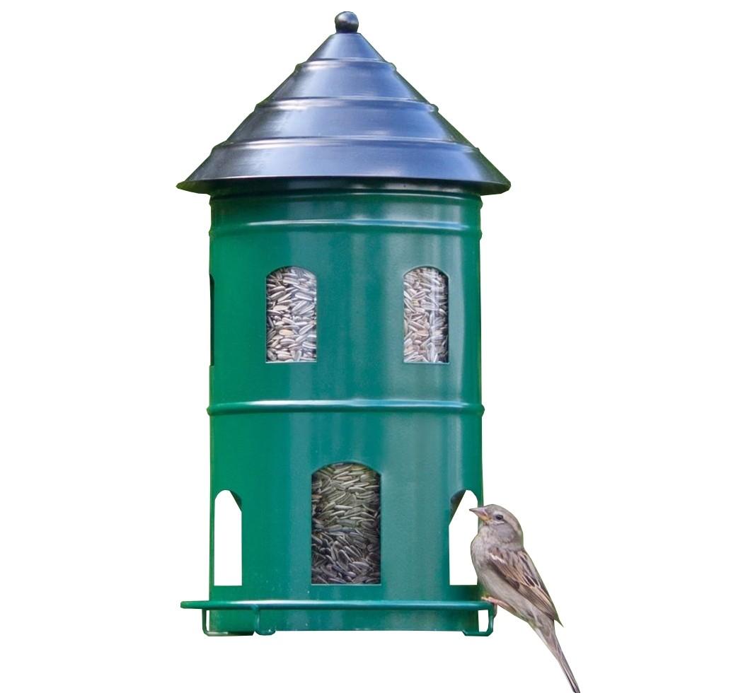 SET Futterstation + Pfahl grün von Wildlife Garden