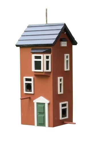 Stadthaus Futterspender Terracotta WG231 von Wildlife Grden